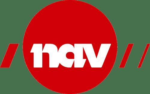Bildet viser logo til NAV